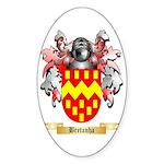 Bretanha Sticker (Oval)