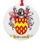 Bretagne Round Ornament