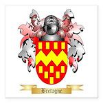 Bretagne Square Car Magnet 3