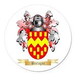 Bretagne Round Car Magnet