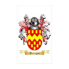Bretagne Sticker (Rectangle 10 pk)