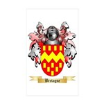 Bretagne Sticker (Rectangle 50 pk)