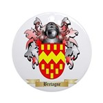 Bretagne Ornament (Round)