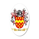 Bret 35x21 Oval Wall Decal