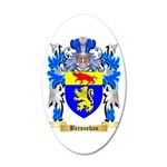 Bresnehan 20x12 Oval Wall Decal