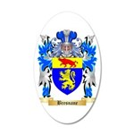 Bresnane 20x12 Oval Wall Decal