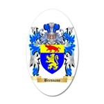 Bresnane 35x21 Oval Wall Decal