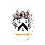 Brenock Oval Car Magnet