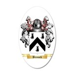 Brenock 35x21 Oval Wall Decal