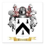Brennock Square Car Magnet 3
