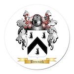 Brennock Round Car Magnet