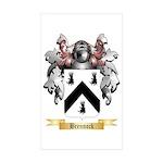 Brennock Sticker (Rectangle 50 pk)