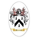 Brennock Sticker (Oval 50 pk)