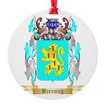 Brenning Round Ornament