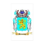 Brenning Sticker (Rectangle 50 pk)
