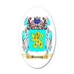 Brenning 35x21 Oval Wall Decal