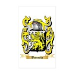 Brenneke Sticker (Rectangle 50 pk)