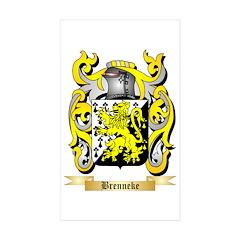 Brenneke Sticker (Rectangle 50 pk)