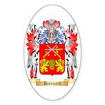 Brennard Sticker (Oval 10 pk)