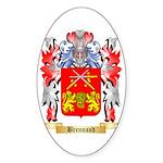 Brennand Sticker (Oval 50 pk)
