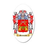 Brennand 35x21 Oval Wall Decal