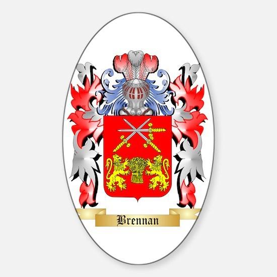 Brennan Sticker (Oval)