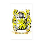 Brendel Sticker (Rectangle 10 pk)