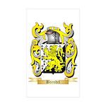 Brendel Sticker (Rectangle 50 pk)