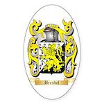 Brendel Sticker (Oval 50 pk)