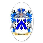 Bremner Sticker (Oval 50 pk)