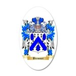 Bremner 20x12 Oval Wall Decal