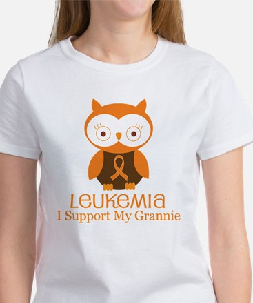 Grannie Leukemia Support Women's T-Shirt