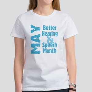 Hearing & Speech Month T-Shirt