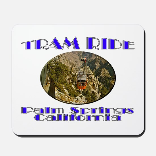 Palm Springs Tram Ride Mousepad