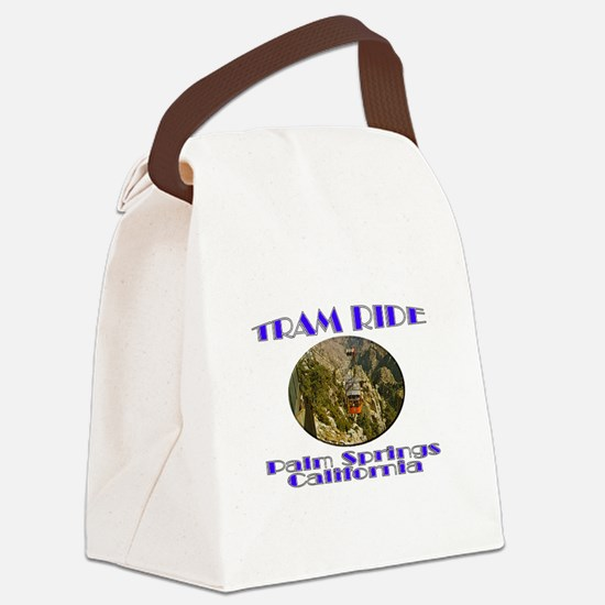Palm Springs Tram Ride Canvas Lunch Bag