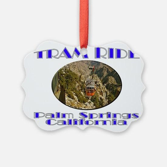 Palm Springs Tram Ride Ornament