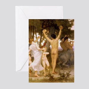 Bacchus 2 New Year's Cards (Pk of 10)