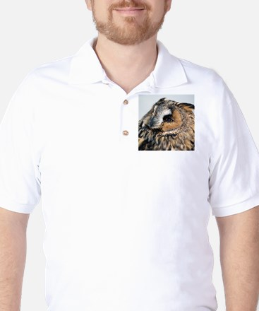 Eagle Owl Golf Shirt