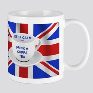 Keep Calm and Drink a Cuppa Tea Mug