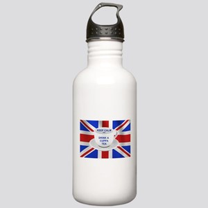 Keep Calm and Drink a CStainless Water Bottle 1.0L