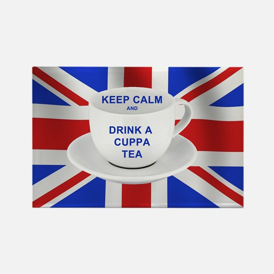 Keep Calm and Drink a Cuppa Tea Magnets