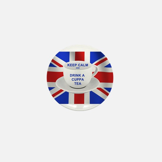 Unique British flag Mini Button