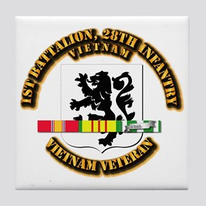 Army - 1st Battalion, 28th Infantry w SVC Ribbons