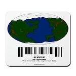 Earth Day UPC Code Mousepad