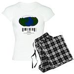 Earth Day UPC Code Women's Light Pajamas