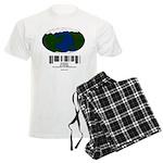 Earth Day UPC Code Men's Light Pajamas