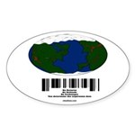 Earth Day UPC Code Sticker (Oval 10 pk)