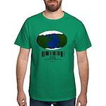 Earth Day UPC Code Dark T-Shirt