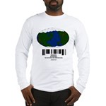 Earth Day UPC Code Long Sleeve T-Shirt
