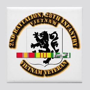 Army - 2nd Battalion, 28th Infantry w SVC Ribbons